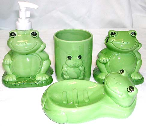 Frog bathroom decor very best furniture design for Frog bathroom ideas