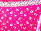 Pinky floral design in sarong wrap