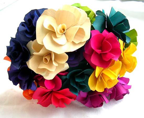 Silk Bouquet Stem Holder For Fresh Garden Look - Bouquet Holders