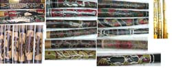 Assorted Painting Digeridoo, Fire Burned Patter Digeridoo, Engraved Pattern Digeridoo