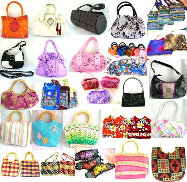 Assorted Rattan Handbag